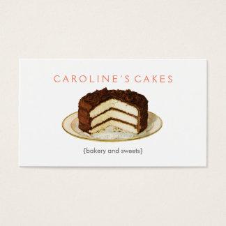 Vintage Cake Business Card