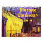 Vintage Calendar 2015