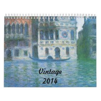 Vintage Calendarios De Pared