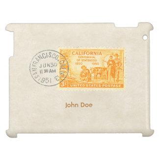 Vintage California 1850 Centennial iPad Case