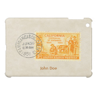 Vintage California 1850 Centennial iPad Mini Case