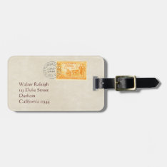 Vintage California 1850 Centennial Luggage Tag at Zazzle