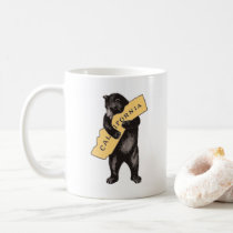 Vintage California Bear Hug Coffee Mug