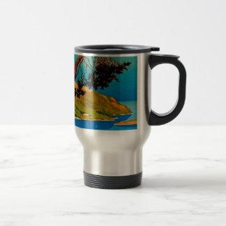 Vintage California Coast Travel Travel Mug