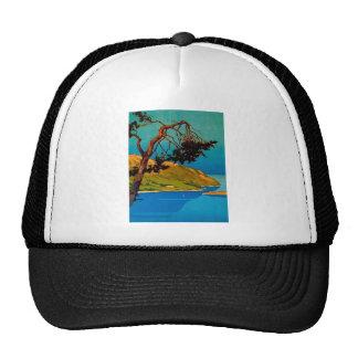 Vintage California Coast Travel Trucker Hat