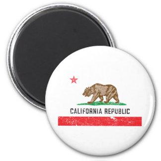Vintage California Flag Magnet