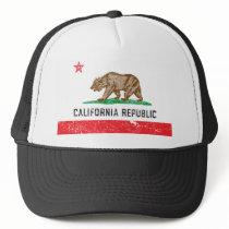 Vintage California Flag Trucker Hat
