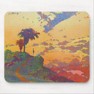 Vintage California Landscape Mousepad