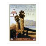Vintage California, los E.E.U.U. - Postales