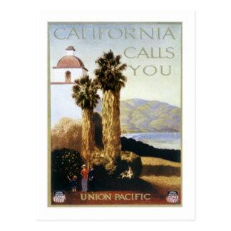 Vintage California los E E U U - Postales