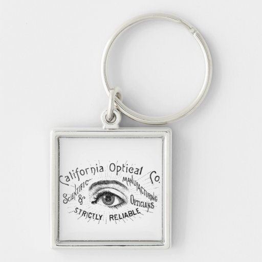 Vintage California Optical Eye Key Chains