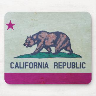 Vintage California Republic Flag Mouse Pad