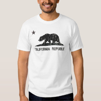 Vintage California Republic State Flag T Shirts