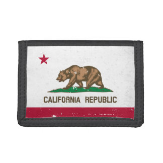 Vintage California Republic state flag wallet