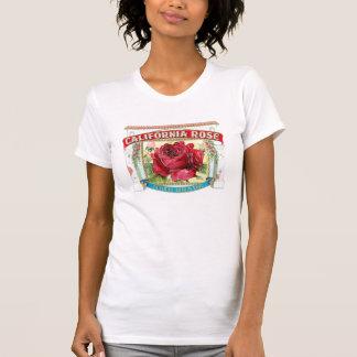 Vintage California Rose Floral T Shirt