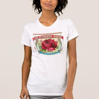 Vintage California Rose Floral T-shirts