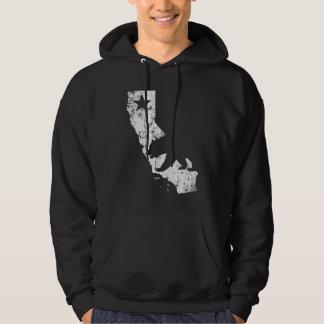 Vintage California State Bear Hoodie