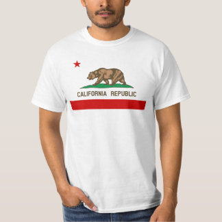 Vintage California State Flag Customizable T-Shirt