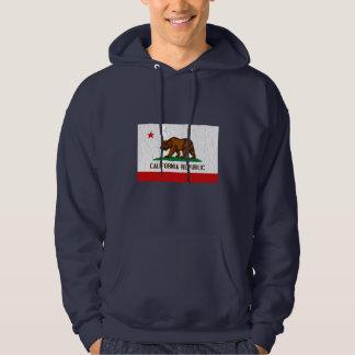 Vintage California State Flag (Distressed) Hoodie