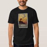 Vintage California Tourism Poster Scene Shirts