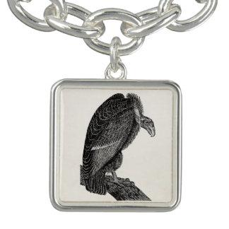 Vintage Californian Vulture Bird - Birds Template Bracelet