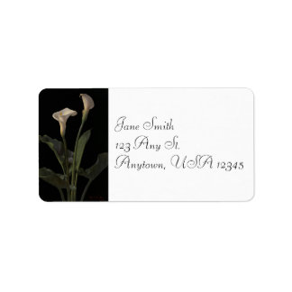 Vintage Calla Lilies Address Labels
