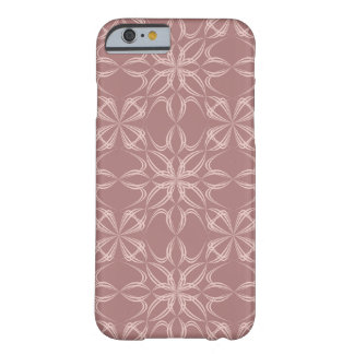 Vintage calligraphic pattern barely there iPhone 6 case