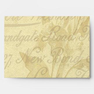 Vintage Calling Card Envelope
