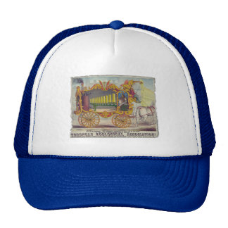 Vintage Calliope Artwork on Apparel and Gifts Trucker Hat