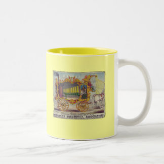 Vintage Calliope Artwork on Apparel and Gifts Mug