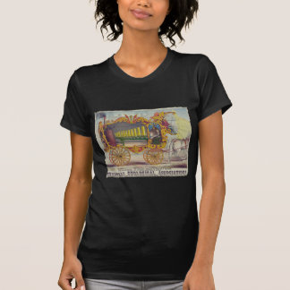 Vintage Calliope Artwork on Apparel and Gifts T-shirt