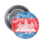 Vintage Cambodia 2 Inch Round Button