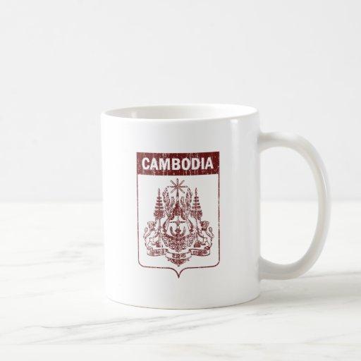 Vintage Cambodia Classic White Coffee Mug