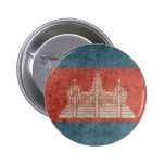 Vintage Cambodia Flag Button