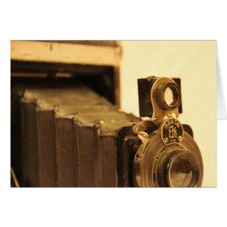 Vintage Camera 1 Card
