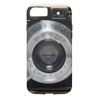 VINTAGE CAMERA 3a Lense German Rangefinder 1932 iPhone 8/7 Case