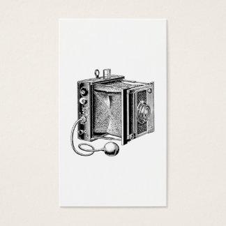 Vintage Camera - Antique Cameras Photography Business Card