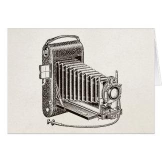 Vintage Camera - Antique Cameras Photography Retro Card