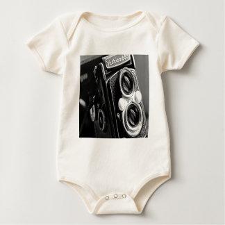 Vintage Camera Baby Creeper