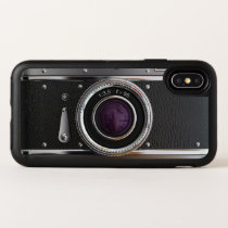 Vintage Camera Best OtterBox Symmetry iPhone X Case