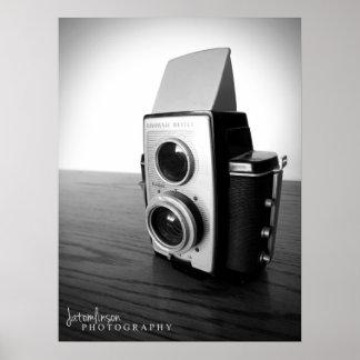 Vintage Camera - Brownie Reflex 20 Circa 1959 Poster