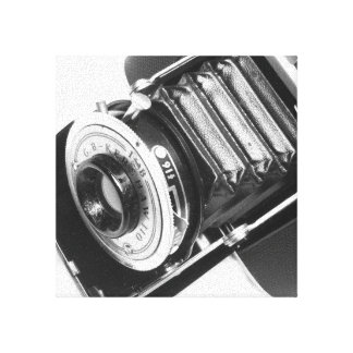 Vintage Camera Stretched Canvas Prints