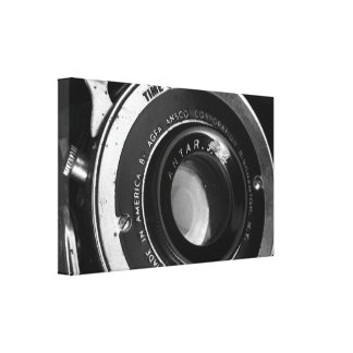 Vintage Camera Gallery Wrapped Canvas