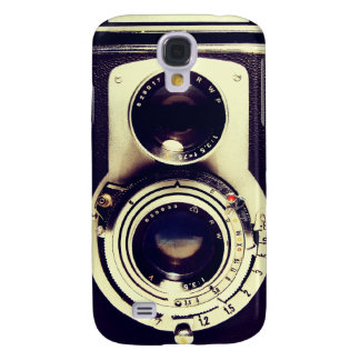 Vintage Camera Samsung Galaxy S4 Cover