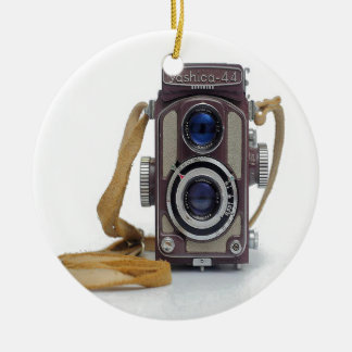 Vintage Camera Ceramic Ornament