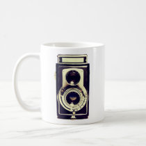 vintage camera, old, retro, cool, photography, analog, funny, camera, vintage, mug, old camera, retro camera, photographer, geek, unique, best gift, classic, photo, Mug with custom graphic design