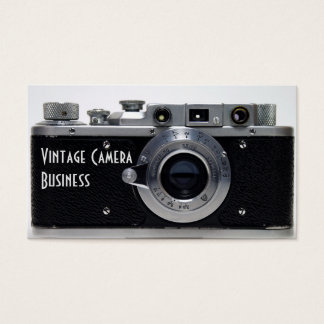 VINTAGE CAMERA Collection 01 Business Card 1