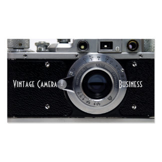 VINTAGE CAMERA Collection (01) Business Card 2