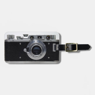 VINTAGE CAMERA Collection 01a Luggage tag 1