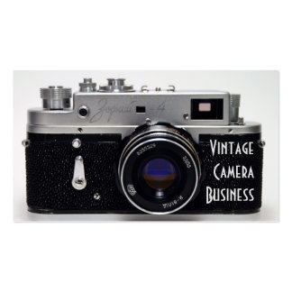 VINTAGE CAMERA Collection 02 Business Cards